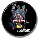 Gorillaz band button! (1inch, 25mm, badges,pins)