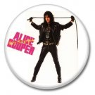 Alice Cooper button! (25mm, badges, pins, glam rock, shock rock)