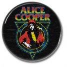 Alice Cooper button! (25mm, badges, pins, glam rock, shock rock)