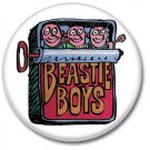 Beastie Boys button! (25mm, badges, pins, hip hop)