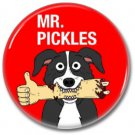 Mr Pickles button (badges, pins, 25mm, adult swim, horror)