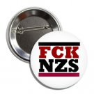 Fuck Nazis Button (1', badges, pins, punk, anarchism, anti nazi)