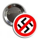 Anti Nazi button (1', badges, pins, anarchy, god save the queen, punks not dead)
