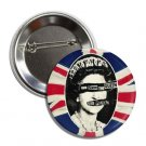 God Save The Queen button (1', badges, pins, anarchy, punks not dead)