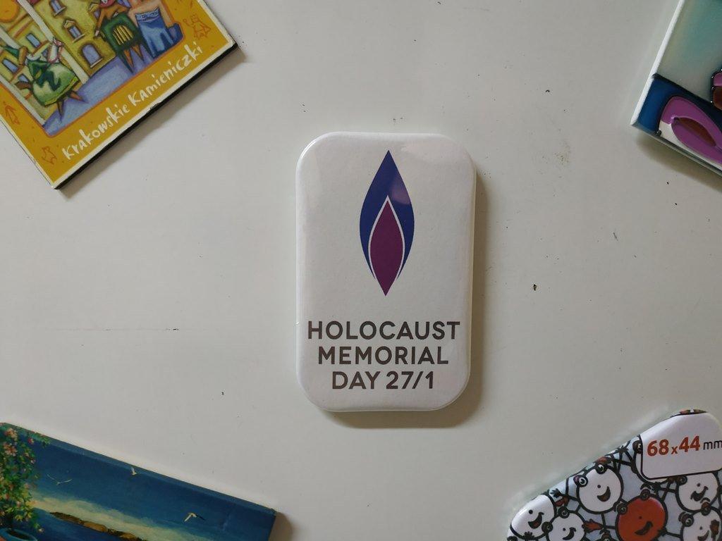 Holocaust Memorial Day Fridge Magnet (Refrigerator Magnets, kitchen decor)
