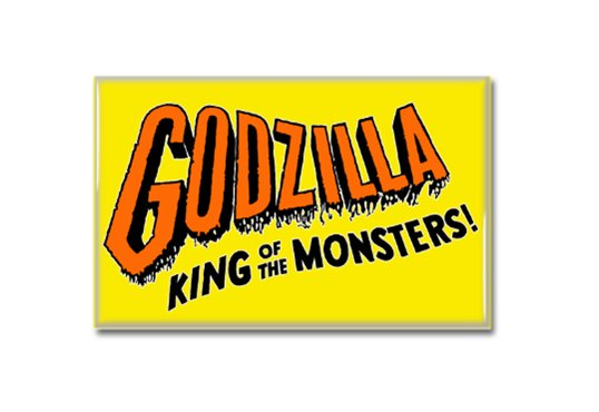 Godzilla King Of Monsters Fridge Magnet (poster, print, refrigerator, kaiju)