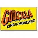 Godzilla King Of Monsters Fridge Magnet (poster, print, refrigerator, kaiju)