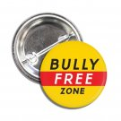 Bully Free Zone button (1inch, badges, pins, stop bullying)