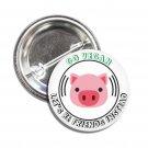 Go Vegan Let's Be Friends button (1inch, badges, pins, vegan)
