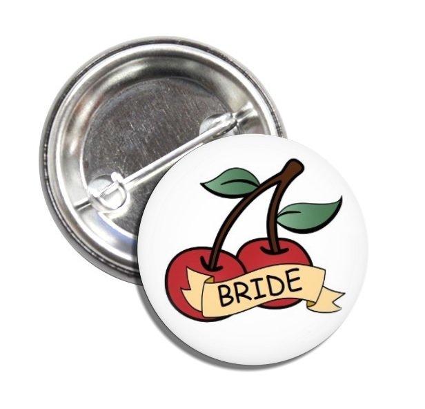 Bride button! (25mm, badges, bride to be, bridal, bachelorette)