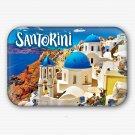 Santorini Greek Island Fridge Magnet (souvenir, rectangular, refrigerator magnet)