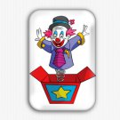 Circus Clown Fridge Magnet (poster, refrigerator magnet, party)