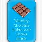 Funny Diet Fridge Magnet (refrigerator magnet, quotes, inspirational, motivational)