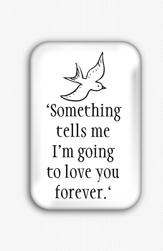 Love Inspirational Quote Fridge Magnet (poster, print, refrigerator, motivational)