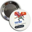 World War II PropagandaButton(1 inch, badges, pinbacks, ww2, insignia, memorabilia)