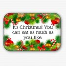 Funny Christmas Fridge Magnet (refrigerator magnet, happy new year)