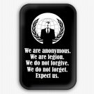 Anonymous Fridge Magnet (refrigerator, hacktivist, cyber)