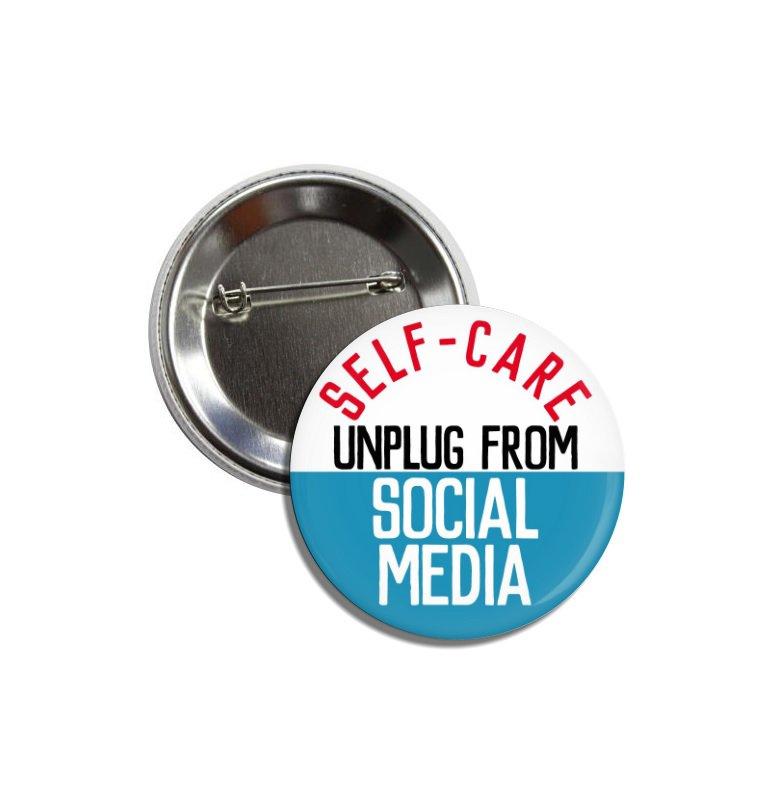 Self Care button (25mm, badges, pinbacks)