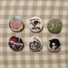 5 x New Bomb Turks band button! (25mm, badges, pinbacks, patches)