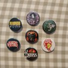 7 x Stoner Rock band button! (25mm, badges, pinbacks, patches)