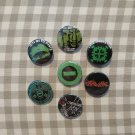 7 x Type O Negative buttons (25mm, badges, pinbacks)