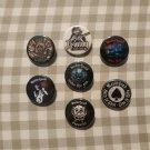 7 x Motorhead band buttons (25mm, badges, pinbacks)