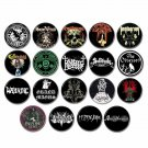 20 x Doom Metal band buttons (25mm, badges, pinbacks, patches)