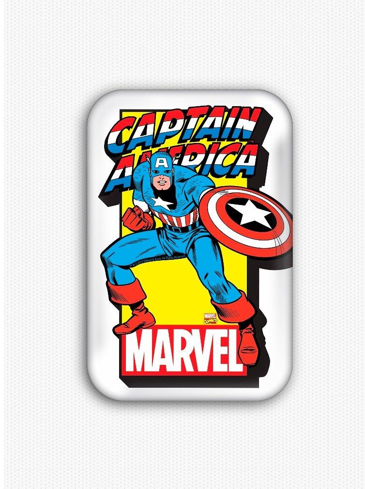 Captain America Fridge Magnet (refrigerator, superhero)