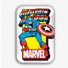 Captain America Fridge Magnet (refrigerator, superhero)