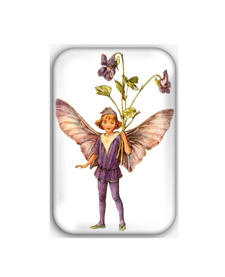 Fairy Fridge Magnet (44x68mm, refrigerator, decoration, vintage, faeries)