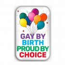 Gay Pride Refrigerator Magnet (44x68mm, rainbow, lgbtq)