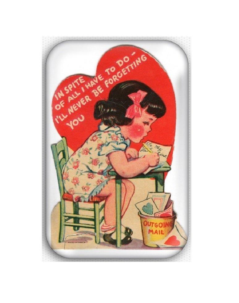 Valentine's Day Fridge Magnet (poster, print, refrigerator, motivational)