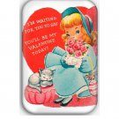 Valentine's Day Fridge Magnet (poster, print, refrigerator, motivational)