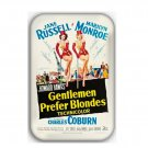 Gentlemen Prefer Blondes Movie Fridge Magnet (movie, poster, dvd, bluray)