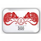 Chinese Year Of The Rat, Happy New Year 2020 Fridge Magnet (44x68mm)