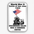 The Battle Of Iwo Jima Fridge Magnet (1.73x2.67 inch, world war II)