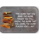 Bookworms Fridge Magnet (68x44mm, refrigerator magnet)