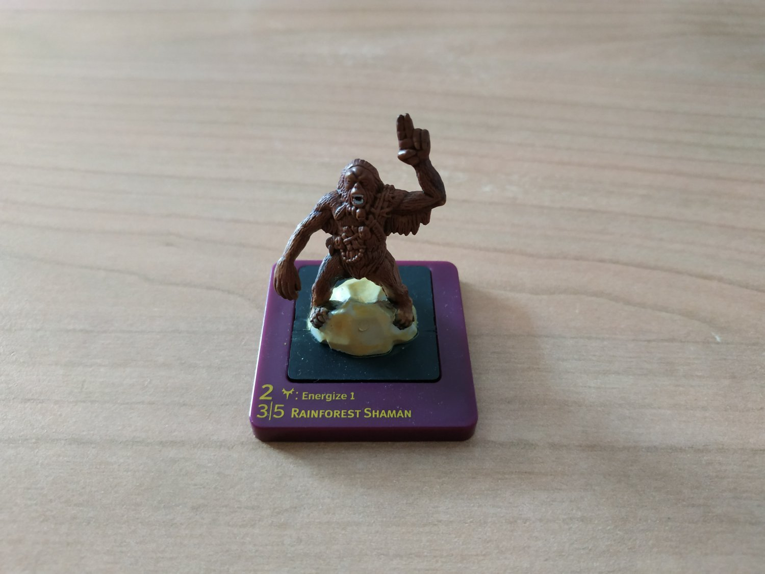 Dreamblade Miniatures, Rainforest Shaman (Wizards of the coast, minis, collectible)