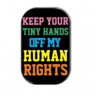 Human Rights Fridge Magnet (1.73x2.67inch,refrigerator,equal rights,rectangular)