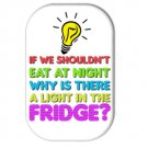 Funny Diet Fridge Magnet (refrigerator magnet, quotes, inspirational, motivational)