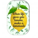When Life Gives You Lemons Make A Lemonade Fridge Magnet