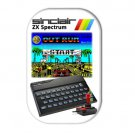 Sinclair ZX Spectrum Outrun Fridge Magnet  (68x44mm, refrigerator magnet)