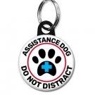 Assistance Dog Pet Id Tag (25mm,1inch, dog tag)
