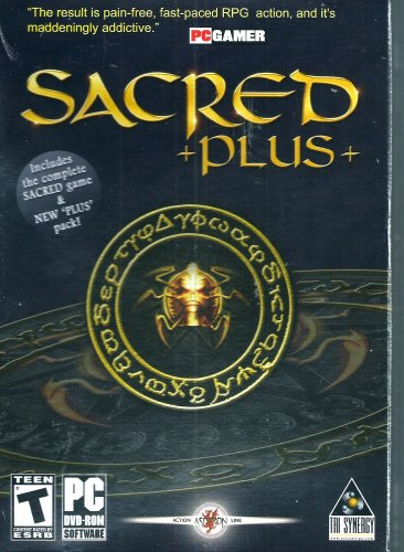 PC GAME SACRED +Plus+ Windows 98SE Thru Windows 10 Sealed