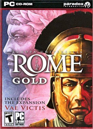 PC GAME EUROPA UNIVERSALIS: ROME Gold  Win 2000 Thru Win 10 Sealed