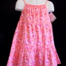 Carters Just One You - NWT Toddler Girls Spring Pink/Orange Dress size 18M