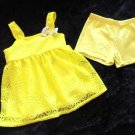 Healthtex - Yellow Lace Tank Lined Top w/Yellow Shorts Baby Girls 24 Mo/2T