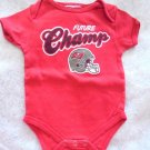 """NFL Tampa Bay Buccaneers """"Future Champs"""" Unisex Creeper, Bodysuit, Size 3-6 Mos"""