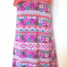 Extremely Me - Floral/Southwestern Delicate Salmon Lace Vest Dress Girls 7/8