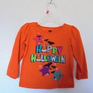 Halloween Graphic Long Sleeve Sparky Tee Shirt Girls Size 12 Mo. NWT